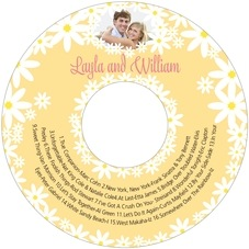 Dreaming Daisies cd labels