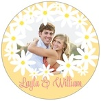 Dreaming Daisies circle labels