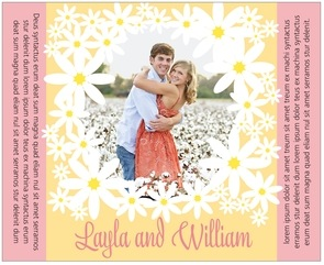Dreaming Daisies large wide labels