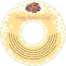 Dreaming Daisies mother's day CD/DVD labels