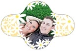 Dreaming Daisies bottle collar labels