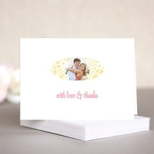 Dreaming Daisies wedding note cards