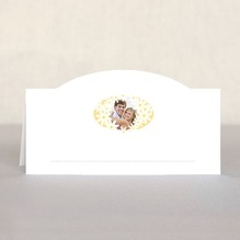 Dreaming Daisies Place Card In Sunburst