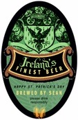Prussian st. patrick's day beer labels