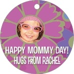 Posies mother's day gift tags