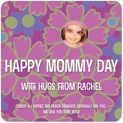 Posies mother's day coasters