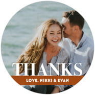Picture Perfect large circle labels
