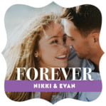 Picture Perfect fancy square labels