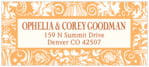 Provencale designer address labels