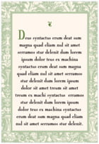 Provencale text labels