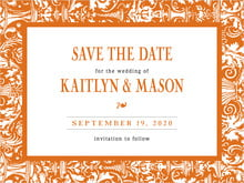 custom save-the-date cards - spice - provencale (set of 10)