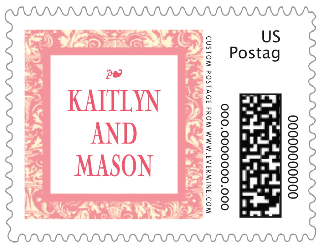 small custom postage stamps - grapefruit - provencale (set of 20)
