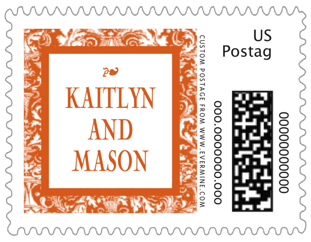small custom postage stamps - spice - provencale (set of 20)