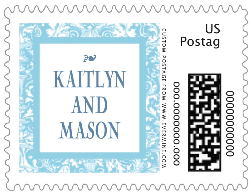 small custom postage stamps - sky - provencale (set of 20)