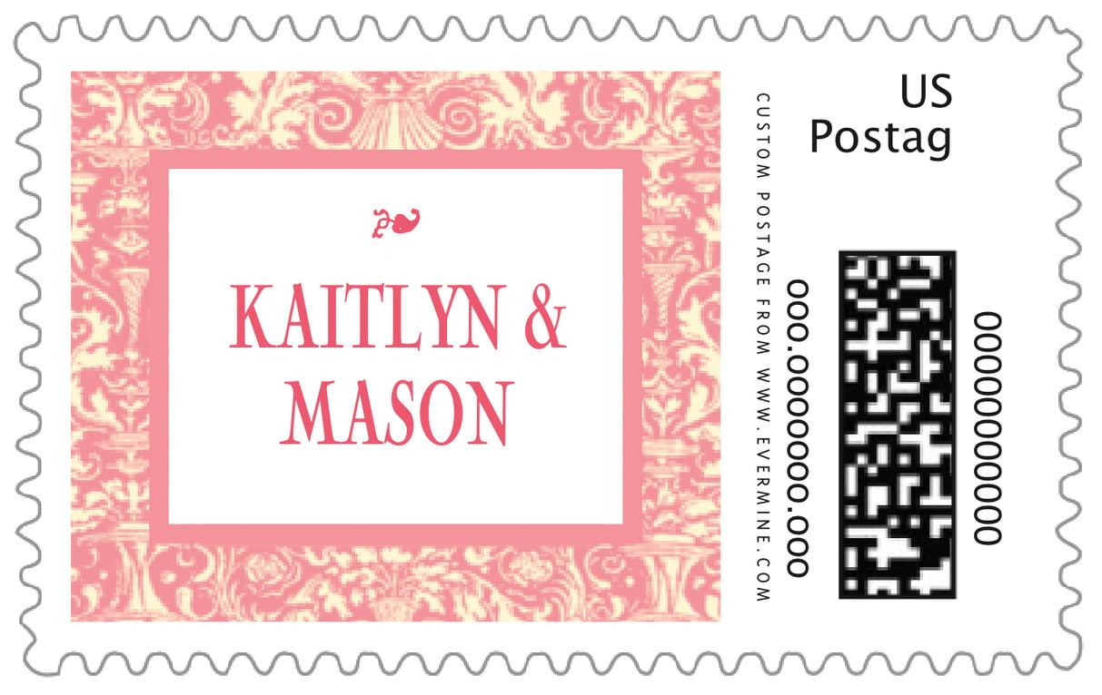 custom large postage stamps - grapefruit - provencale (set of 20)