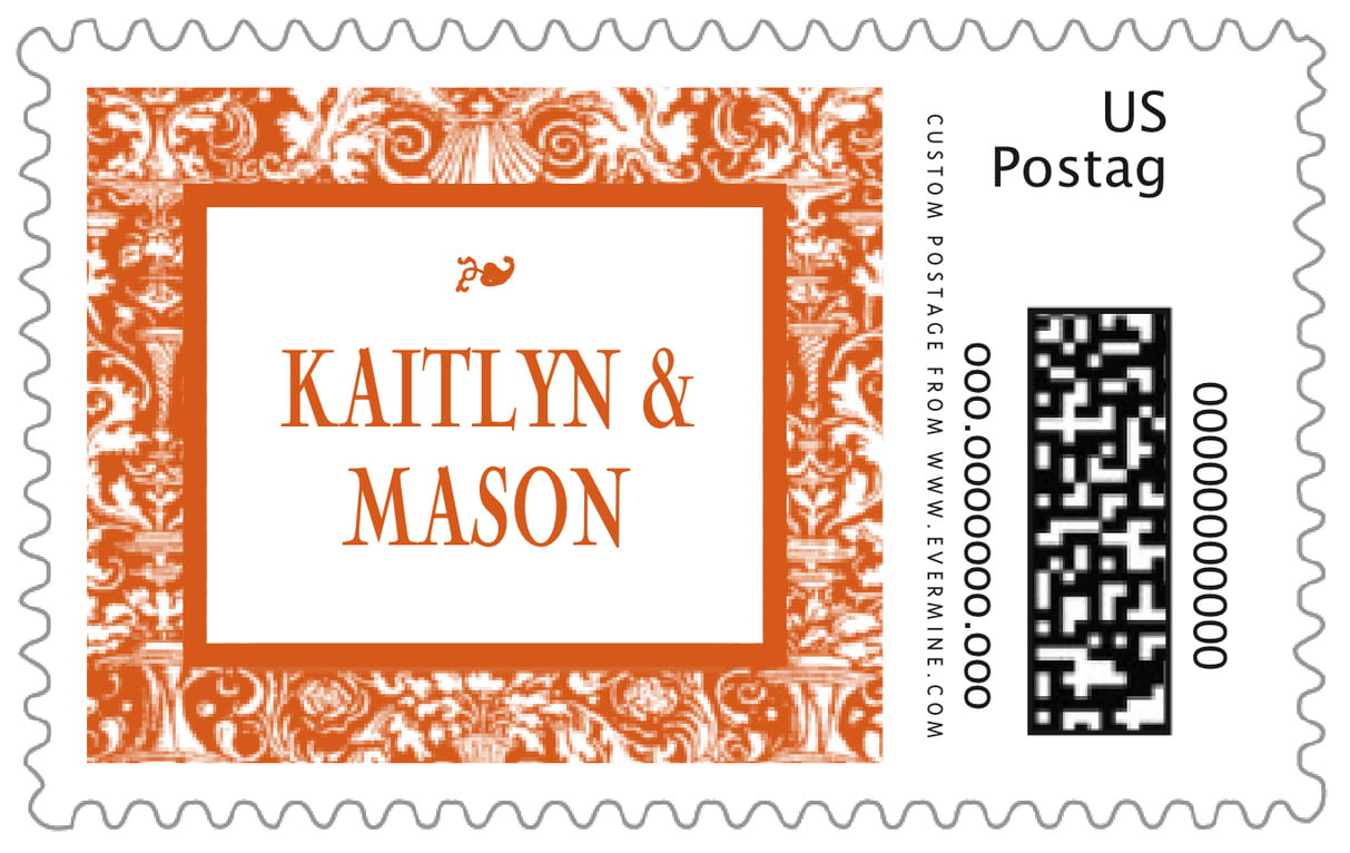 custom large postage stamps - spice - provencale (set of 20)