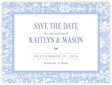 Provencale save the date cards