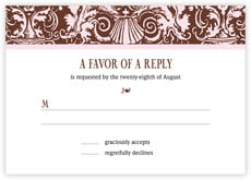 Provencale response cards