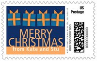 Presents large postage stamps
