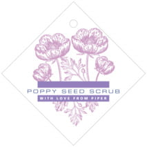 Poppy diamond hang tags