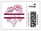 Poppy small postage stamps