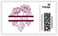 Poppy large postage stamps
