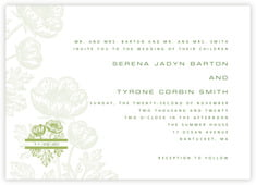 Poppy invitations