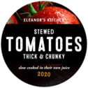 Pomodoro medium round labels