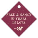 Rustic Bistro small diamond hang tags