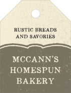 Rustic Bistro small luggage tags