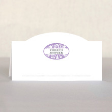 Rococo bridal shower place cards