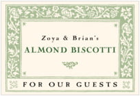 Rococo Spring wide rectangle labels