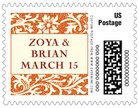 Rococo Spring small postage stamps