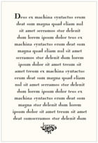 Rococo Spring text labels