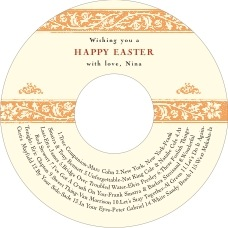 Rococo Spring easter CD/DVD labels