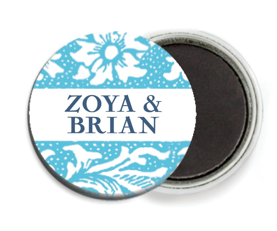 custom button magnets - sky - rococo spring (set of 6)