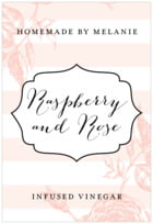 Striped Rose tall rectangle labels
