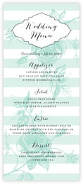 Striped Rose menus