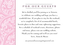 custom enclosure cards - pale pink - renaissance (set of 10)