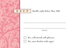 custom response cards - grapefruit - renaissance (set of 10)