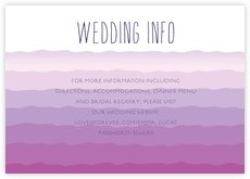 Ruffled Ombre enclosure cards