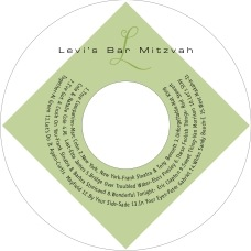Riva Cd Label In Green Tea