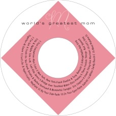 Riva mother's day CD/DVD labels