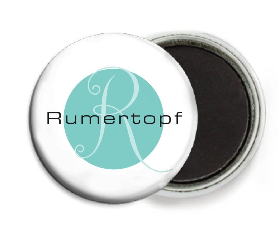 custom button magnets - aruba - riva (set of 6)