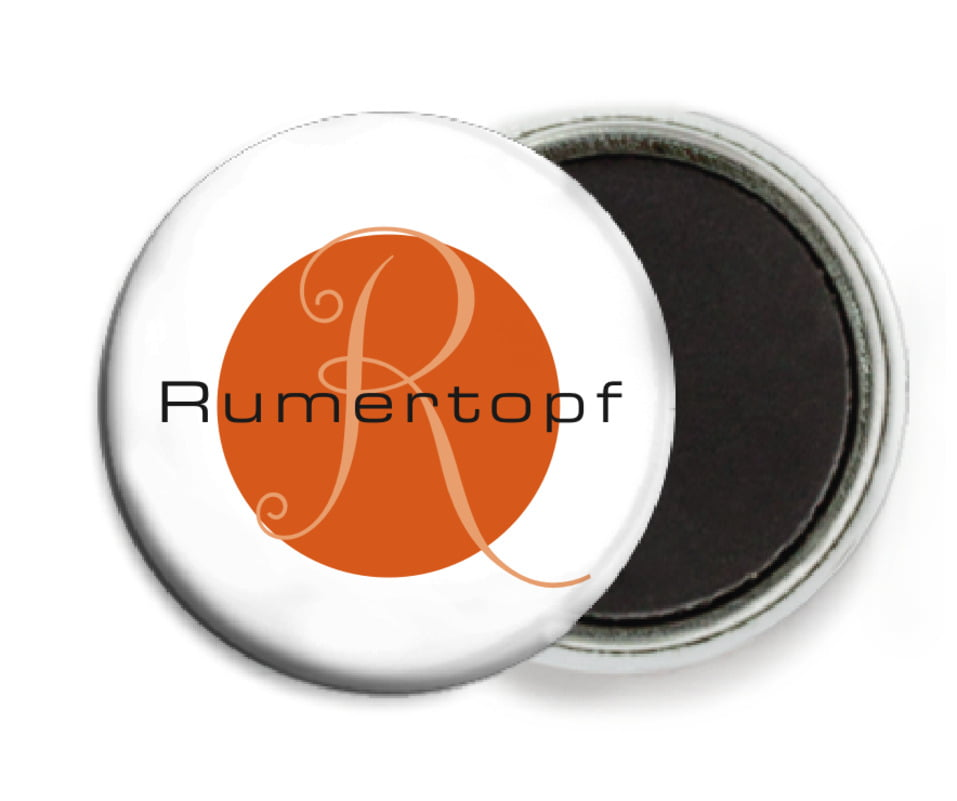 custom button magnets - spice - riva (set of 6)