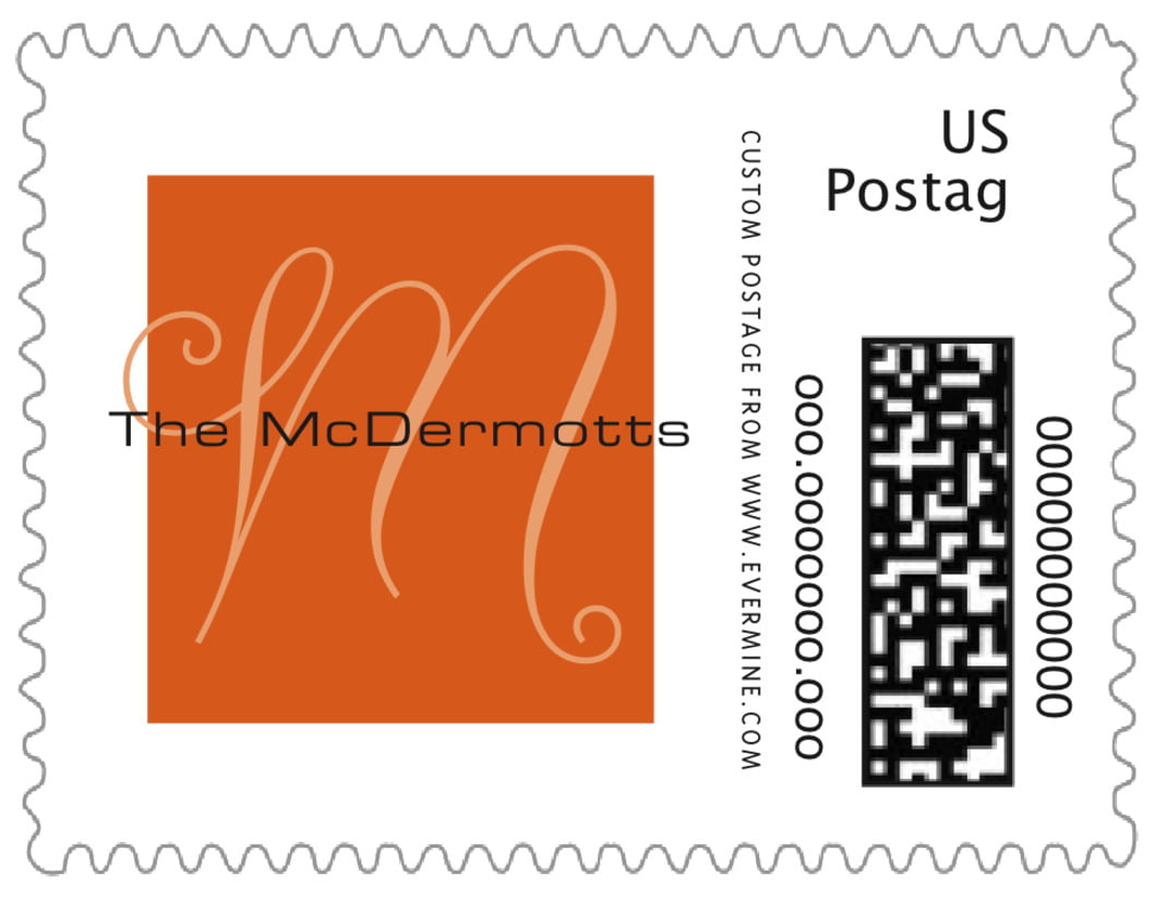 small custom postage stamps - spice - riva (set of 20)