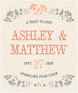 Rustic Blooms large labels