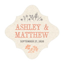 Rustic Blooms fancy diamond labels