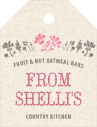 Rustic Blooms small luggage tags