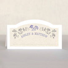 Rustic Blooms place cards